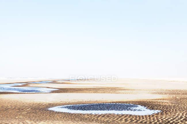 Відкритий місце з пустелі ландшафту — стокове фото