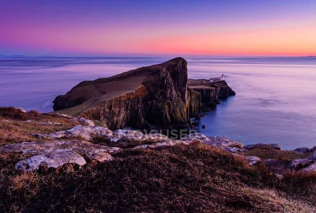 Красива природа острів Скай — стокове фото