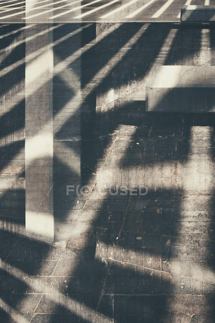 Abstract abstract with sunbeam shadows — Stock Photo