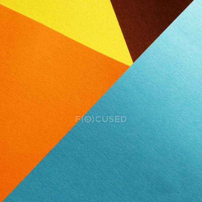 Шаблон красочных абстрактных геометрических фигур — стоковое фото