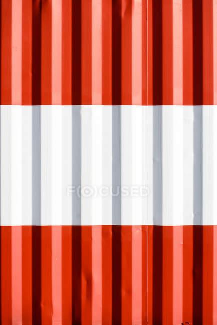 Hintergrund der roten und weißen Streifen — Stockfoto