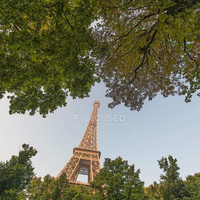 Ейфелева вежа, Париж, Франція — стокове фото