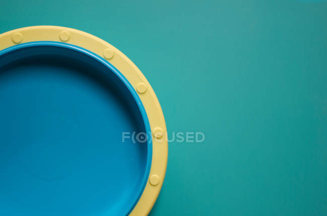 Green background with half round shape — Stock Photo