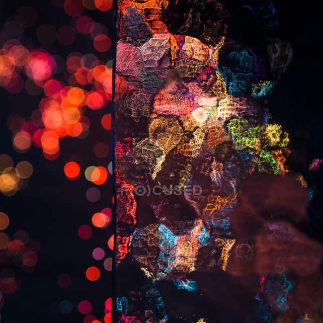 Rot abstrakt Art Tapete — Stockfoto