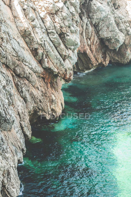Rocks and sea view — Stock Photo