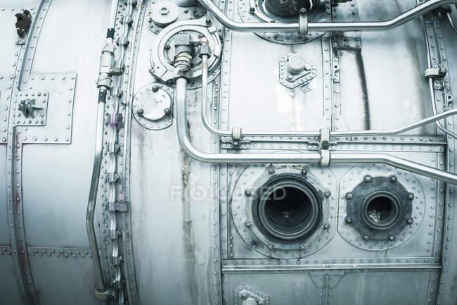 Detalhes de construção de utensílios de prata — Fotografia de Stock