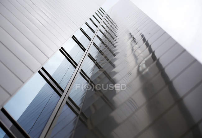 Close-up view of high-rise building — Stock Photo