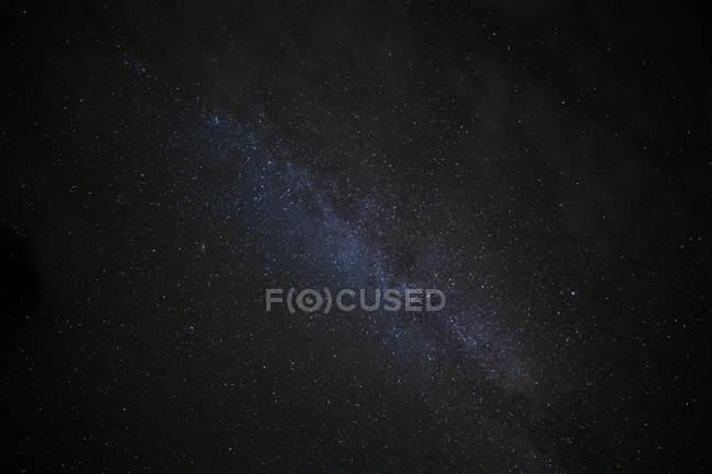Stars in night sky, galaxy wallpaper — Stock Photo