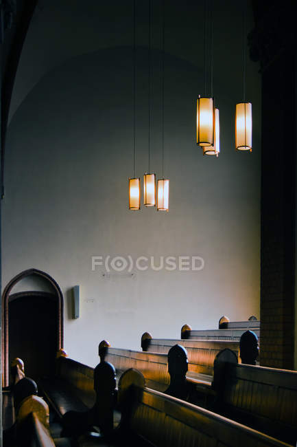 Elementi di illuminazione, Lampade da soffitto — Foto stock