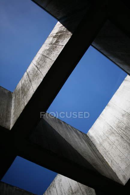 Moderna construção civil, vista parcial de detalhes da adega — Fotografia de Stock
