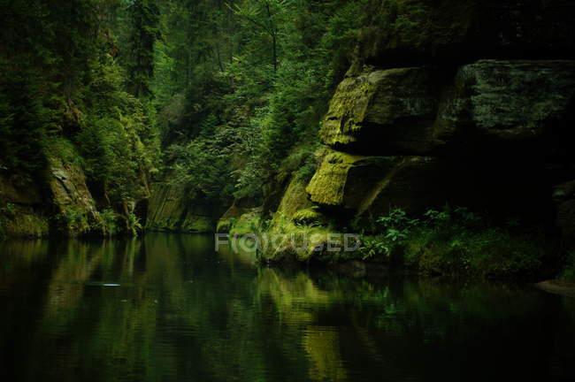 Montagne di arenaria Elba — Foto stock