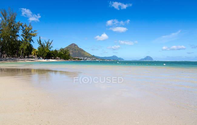 Тропический пейзаж Маврикия — стоковое фото