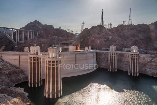 Hoover dam, Nevada, USA — Stock Photo