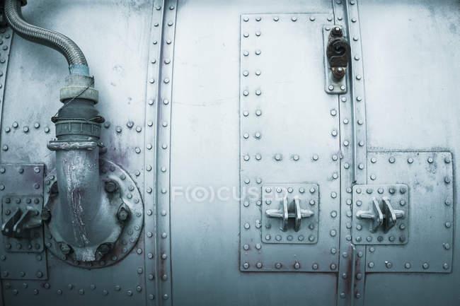 Detalhes de construção de artigos de metais predestinados — Fotografia de Stock