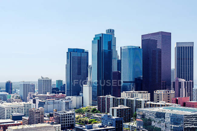Buildings Of Modern Architecture Los Angeles California Usa
