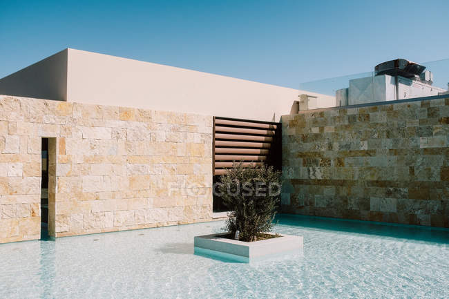 Built structure against clear sky. — Stock Photo