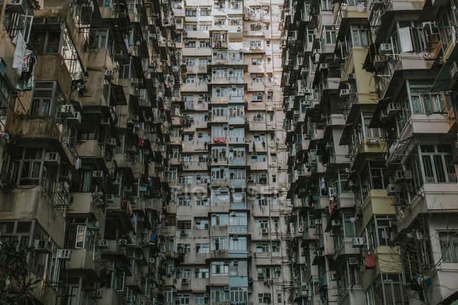 Architectural buildings in Hong Kong — Stock Photo