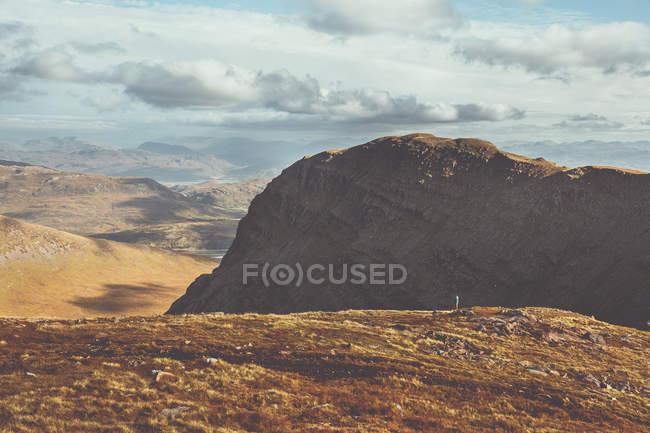Malerische Natur Ansicht der Rocky Mountains an sonnigen Tag — Stockfoto