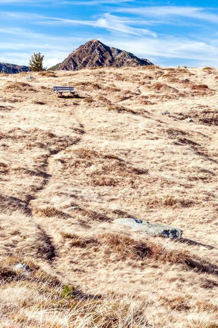 Eine malerische Landschaft im Laufe des Tages — Stockfoto