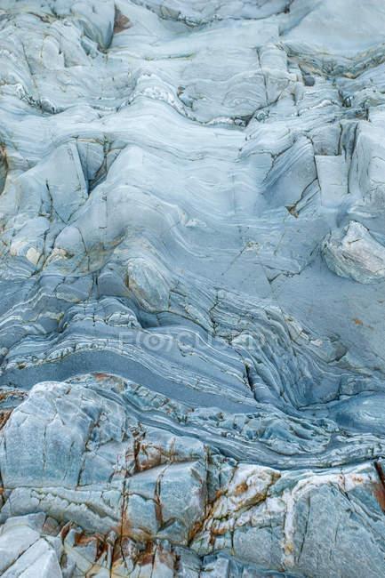 Высокий угол зрения полный кадр скальное образование — стоковое фото