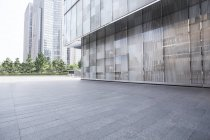 Urban scene of modern architecture in China — Stock Photo