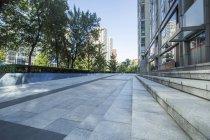 Scène urbaine de l'architecture moderne à Beijing, Chine — Photo de stock