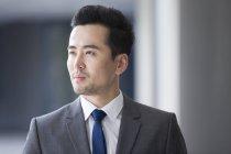 Портрет серйозний бізнесмен китайський — стокове фото