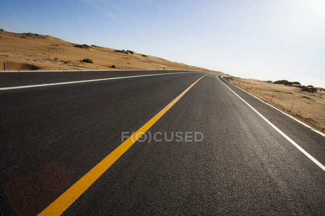 Autobahn in der inneren Mongolei, China — Stockfoto