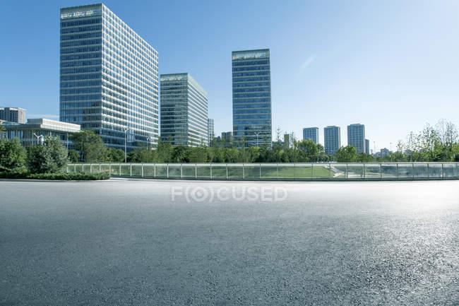 Scène urbaine de Pékin architecture contemporaine — Photo de stock