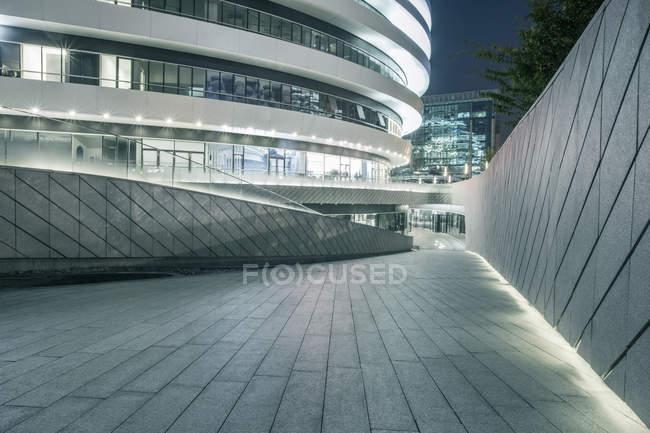 Городские сцены Пекина, здание вход — стоковое фото