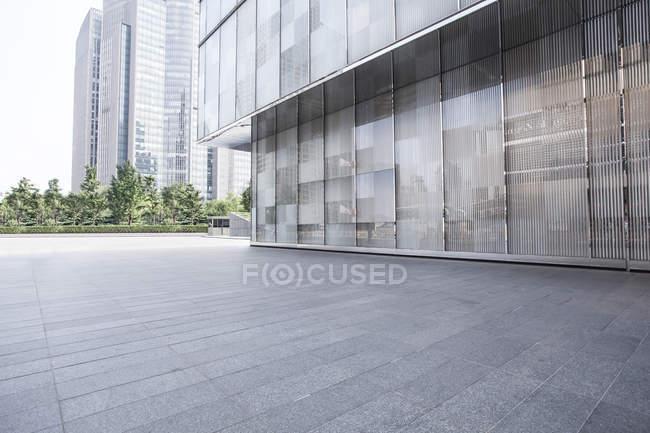 Cenário urbano da arquitetura moderna na China — Fotografia de Stock