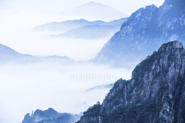 Mount Huangshan in Anhui province, China — Stock Photo
