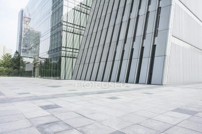 Scena urbana dell'architettura moderna in Cina — Foto stock