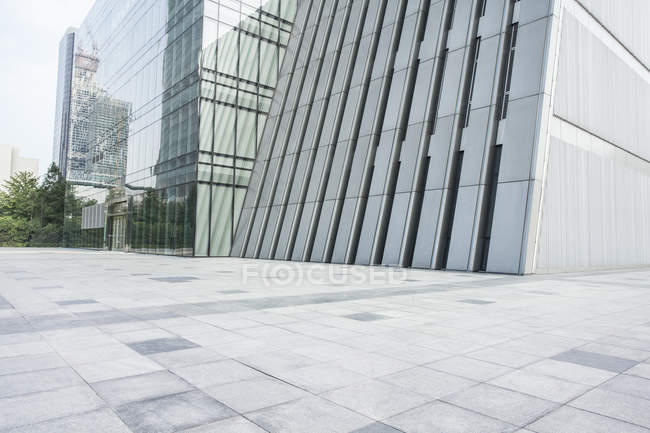 Urbane Szene moderner Architektur in China — Stockfoto