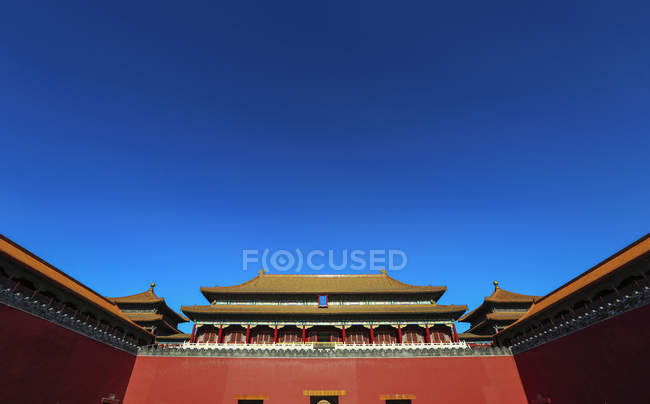 Forbidden City palace complex in Beijing, China. — стокове фото