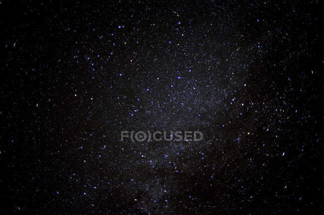 Clear night sky filled with stars — Stock Photo