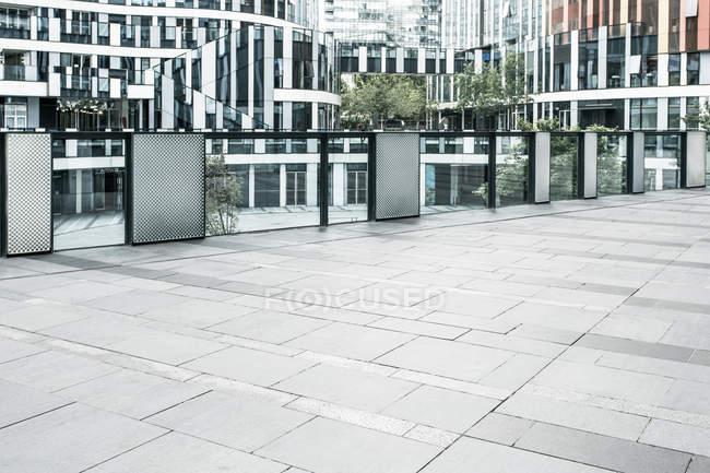 Scena urbana della zona pedonale nel centro di Pechino, Cina — Foto stock
