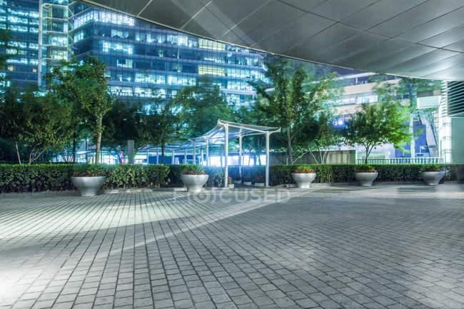 Scena urbana di architettura contemporanea di Pechino, Cina — Foto stock