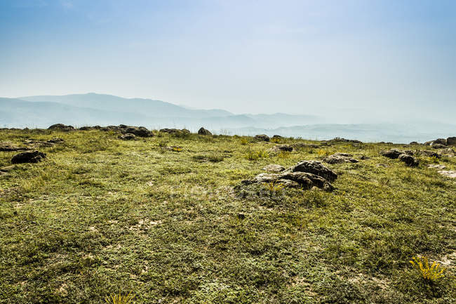 Grassland scenery in Hebei province, China — Stock Photo