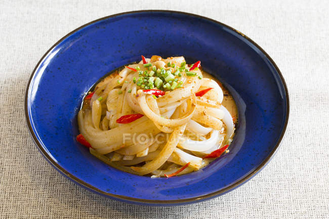 Nouilles de riz froid chinois traditionnel — Photo de stock