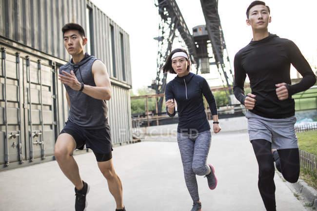 Легкоатлеты Китая — стоковое фото