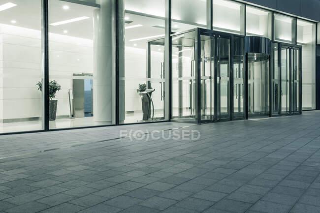 Edificio moderno esterno, Pechino, Cina — Foto stock