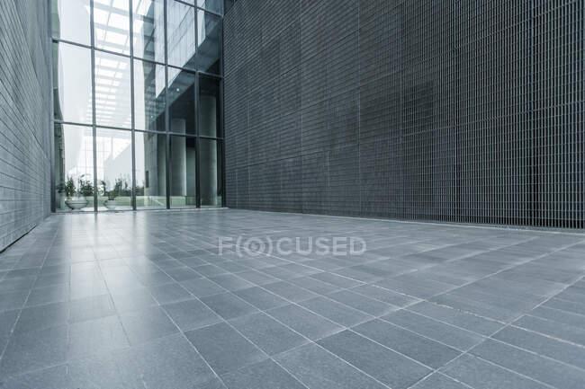 Modern building exterior, Beijing, China — Stock Photo