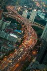 Traffic on highway at Shanghai — Stock Photo