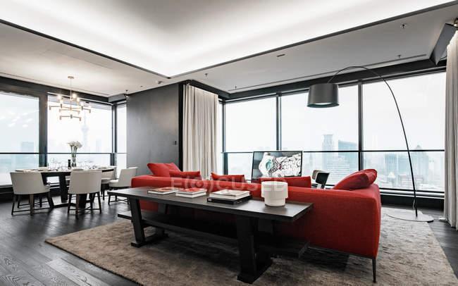 Moderne Apartments Interieur — Stockfoto | #137056420