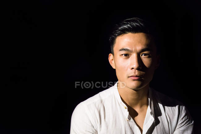 Asian young man — Stock Photo