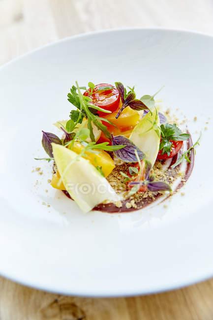 Insalata di verdure fresca e sana — Foto stock