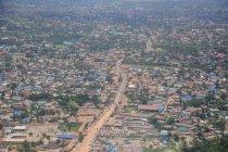 An aerial view of of Zanzibar — Stock Photo