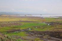 Пейзаж-сафари в Танзании, Африка. — стоковое фото
