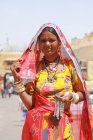 Belle femme indienne — Photo de stock